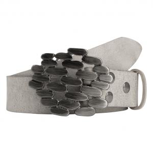 Wechselgürtel Ledergürtel mit Wechselschnalle Wechselschließe Steine