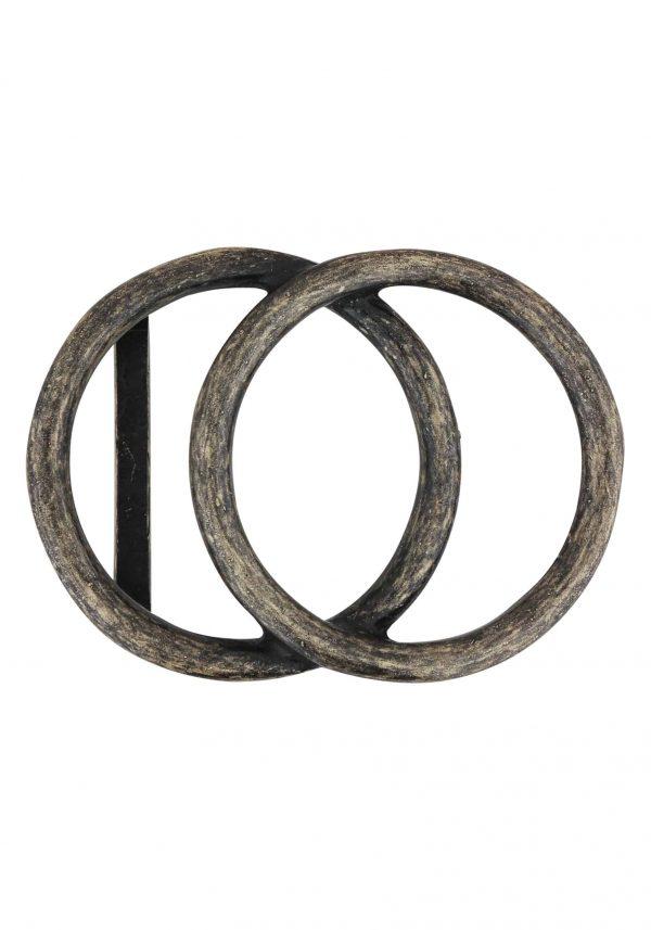 Unsere Gürtelschließen Gürtelschnallen: WechselSchließe Wechselschnalle Wechselschließe 2 Kreise rustikal