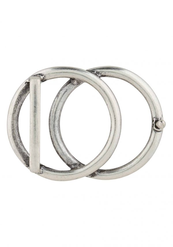 Unsere Gürtelschließen Gürtelschnallen: WechselSchließe Wechselschnalle Wechselschließe 2 Kreise silber
