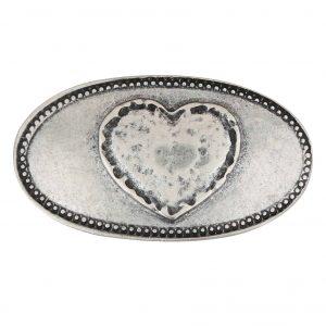 Unsere Gürtelschließen Gürtelschnallen: WechselSchließe Wechselschnalle Wechselschließe Herz oval