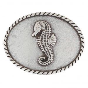 Unsere Gürtelschließen Gürtelschnallen: WechselSchließe Wechselschnalle Wechselschließe Seepferd oval