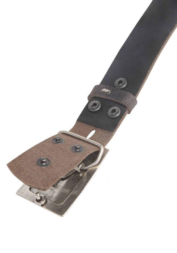 Wechselgürtel Ledergürtel mit Wechselschnalle Wechselschließe Rechteck gestapelt
