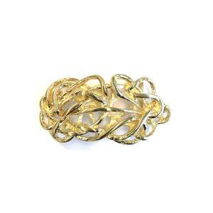 Strohknoten gold glaenzend