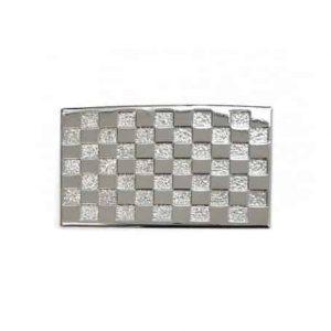 Unsere Gürtelschließen Gürtelschnallen: Wechselschnalle Wechselschließe 3cm Schachbrett