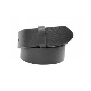 Wechselgürtel Ledergürtel 3cm schwarz ohne Schnalle